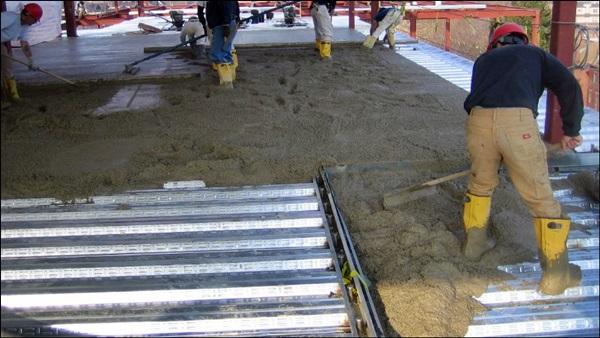 armação lajes Steel Deck
