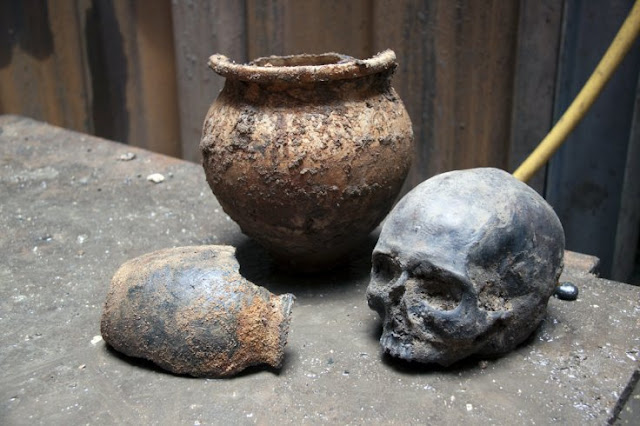 Solving the mystery of the Roman Walbrook skulls