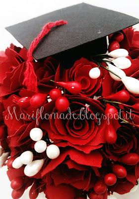 rose, scrapbooking, silhouette cameo, bigshot, graduation, laurea