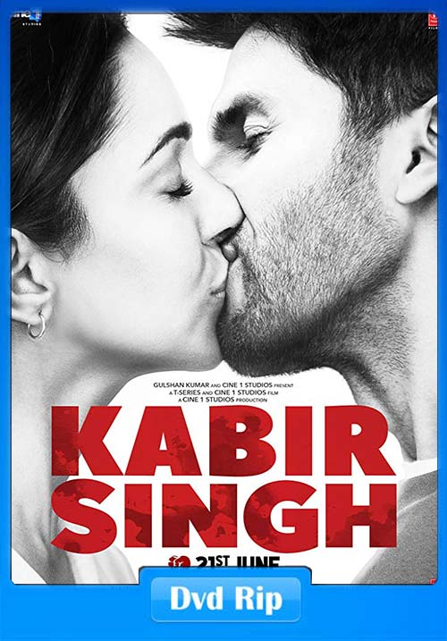 Kabir Singh 2019 Hindi NR DVDRip x264   480p 300MB   100MB HEVC Poster