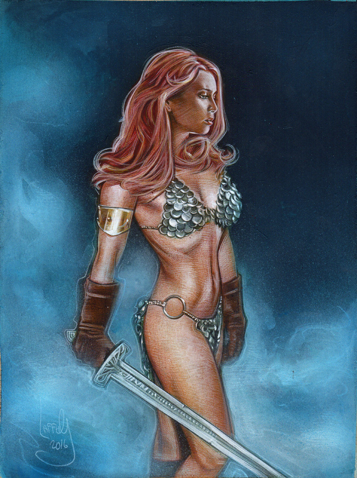 Red Sonja, Artwork© Jeff Lafferty