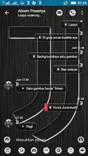 BBM Mod JJ Juventus v3.3.1.24 Apk Update Terbaru for Android