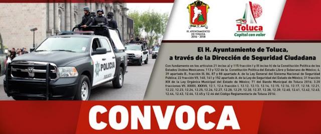Convocatoria en Toluca