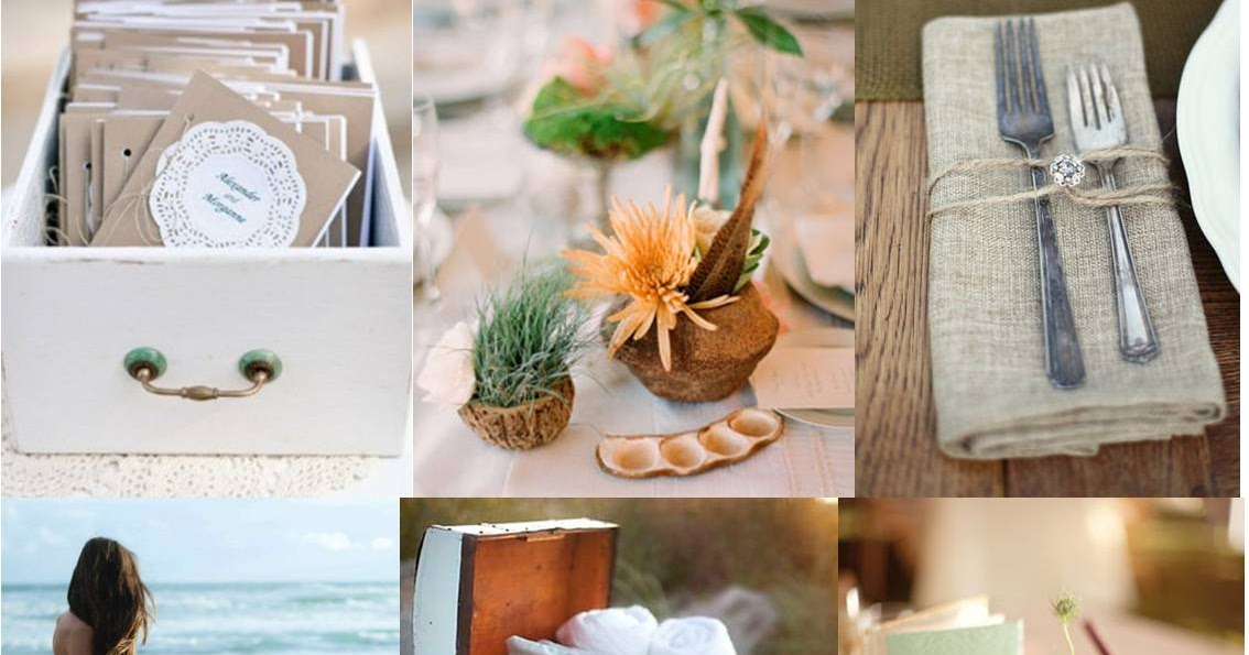 Pod And Pea: Beach Wedding