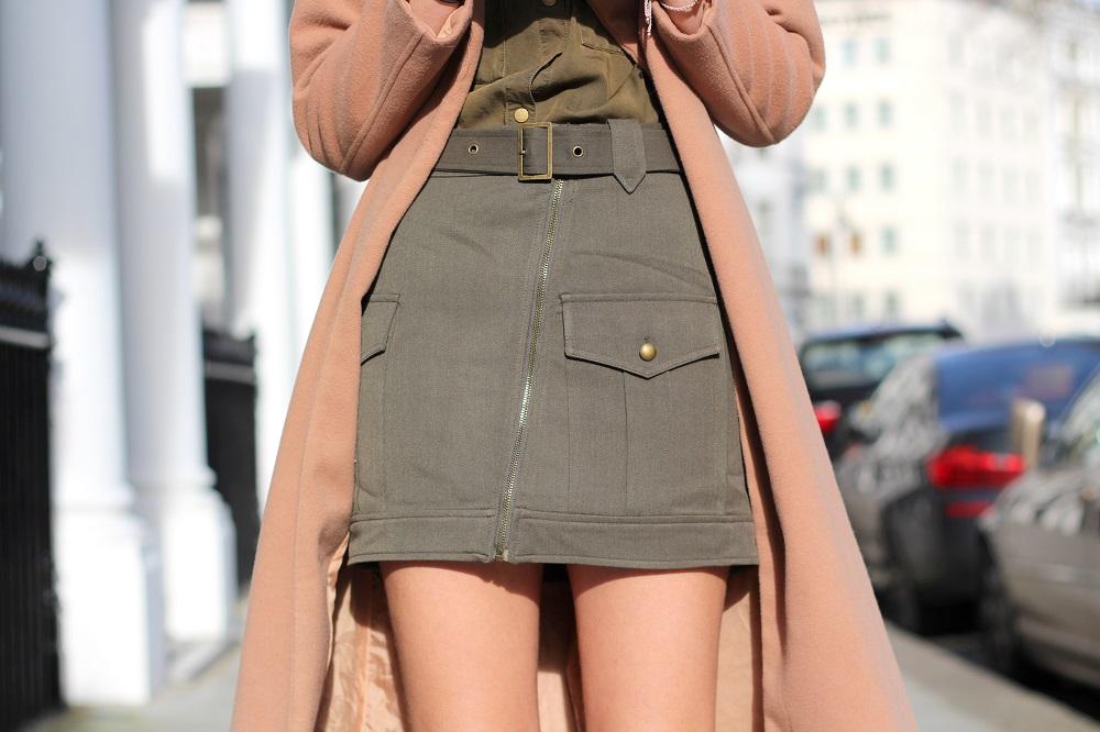 forever 21 khaki skirt peexo