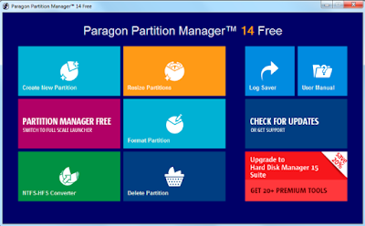 Download Paragon Partition Manager 15 Home (64-bit) for Windows