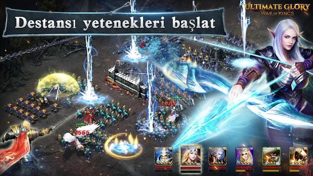 ultimate glory mobil strateji