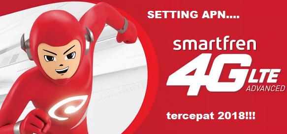 Setting APN Smartfren 4G LTE GSM Tercepat dan Stabil