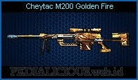 Cheytac M200 Golden Fire
