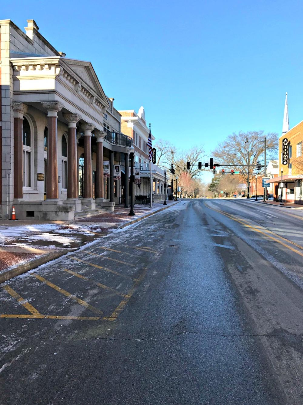 northwest Arkansas town square