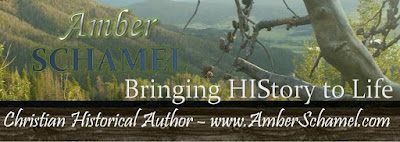 Blogger: Amber Schamel Christian Historical Fiction author