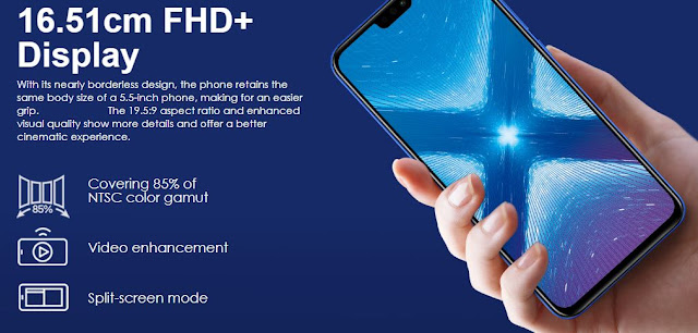 Specifications and Features of Honor 8X Detailed Review