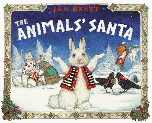 Review & Author Signing: The Animals' Santa by Jan Brett