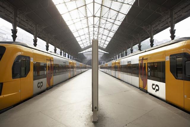 Trem de Madri ao Porto