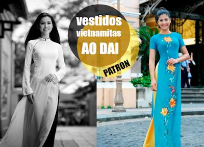 Como hacer un vestido vietnamita Ao Dai
