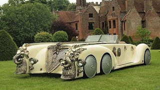 The Nautilus Limousine Muscle Captain Nemo Car