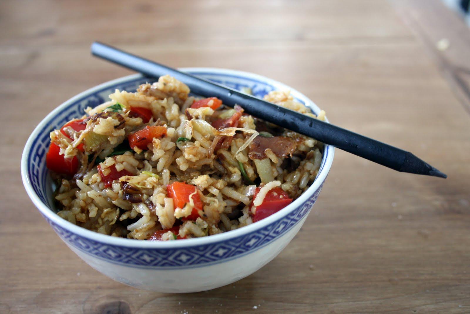 riisin jämistä ruokaa