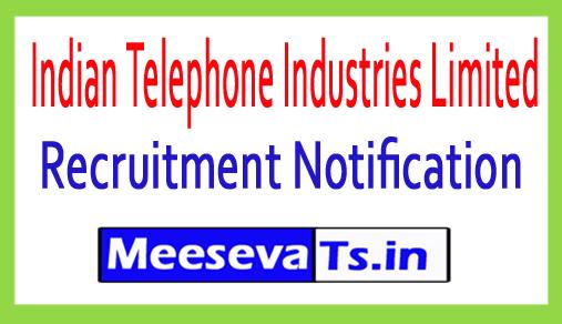 ITI Limited Recruitment
