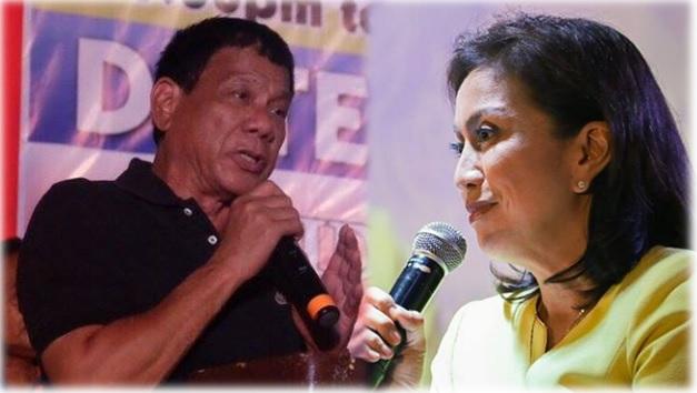 President-elect Rodrigo Duterte, VP-elect Leni Robredo.
