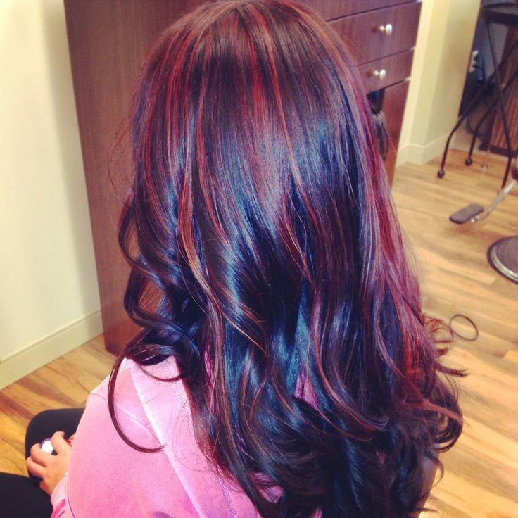Dark Red Hair Color With Highlights Red Hair Colors 20162017