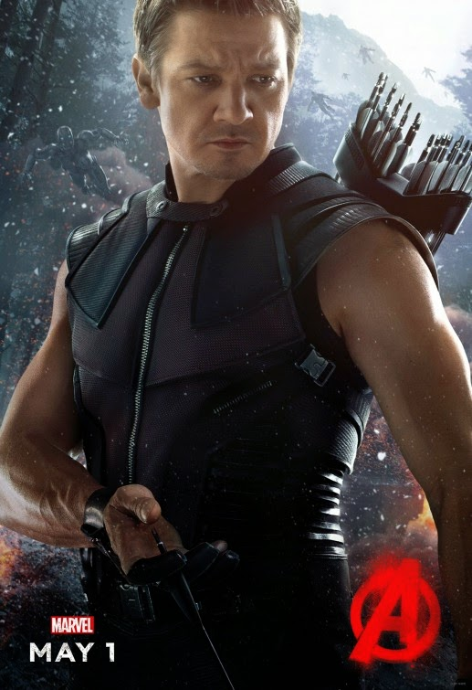 Avengers Age of Ultron Hawkeye movie poster