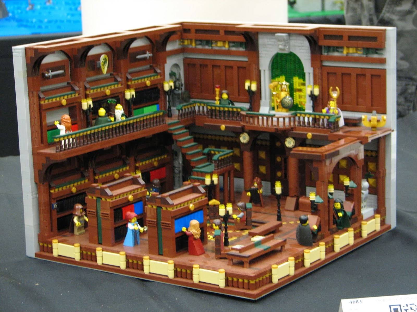gen y er on the loose brickcon 2013 here is another set of gorgeous detailed building facades this time a pirate theme most excellent