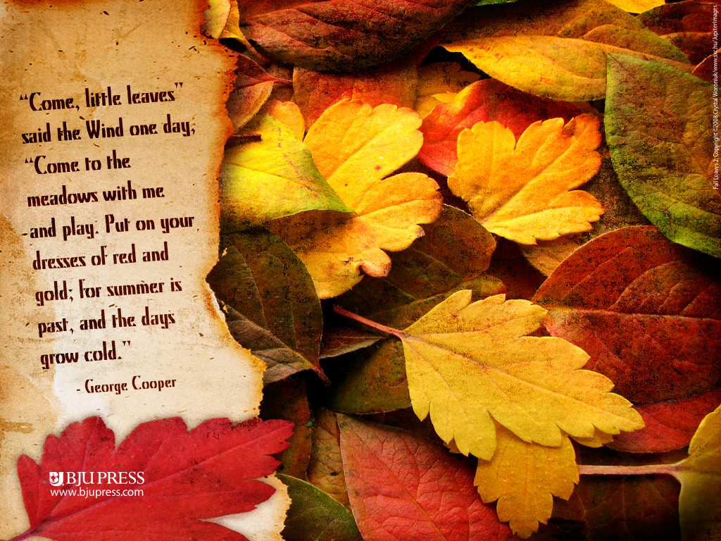 Autumn Quotations ~ Autumn Posters Picture