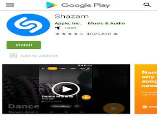Shazam Lite untuk Android dan iPhone