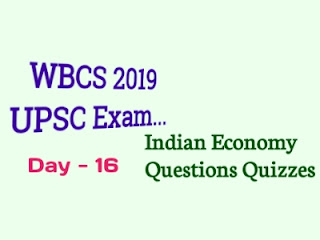 UPSC Indian Economy Questions Quizzes