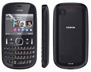Harga Handphone Nokia Asha 200