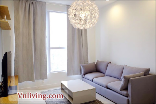 Masteri Thao Dien apartment for rent 2 bedrooms swimming pool view Tower 2