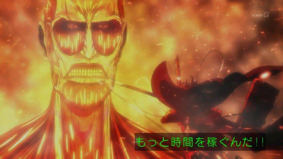 アニメ進撃の巨人3期54話感想 これが最後のアルミンの知謀… 一瞬だけヒストリアが… 描写 ワンシーン ワンカット