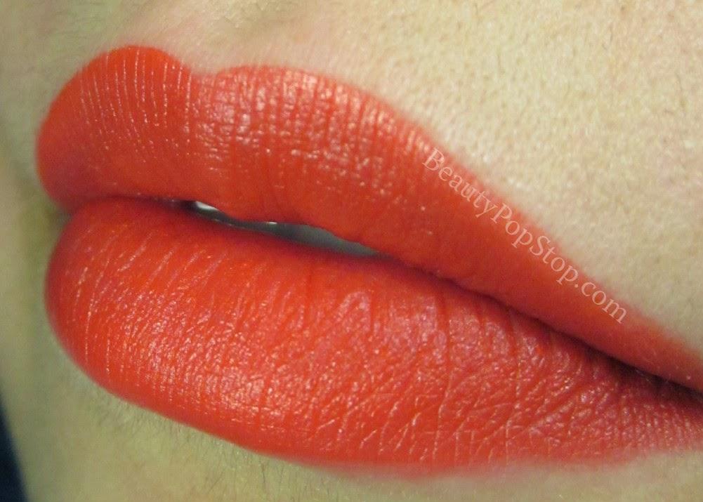inglot freedom system matte lipstick 501 swatch