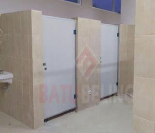 Aplikasi Pintu Kamar Mandi PVC Board