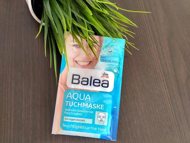 Balea Aqua hydratačná textilná maska