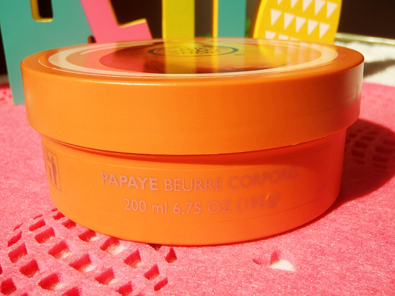 The Body Shop masło papaja, TBS papaja, TBS papaya butter