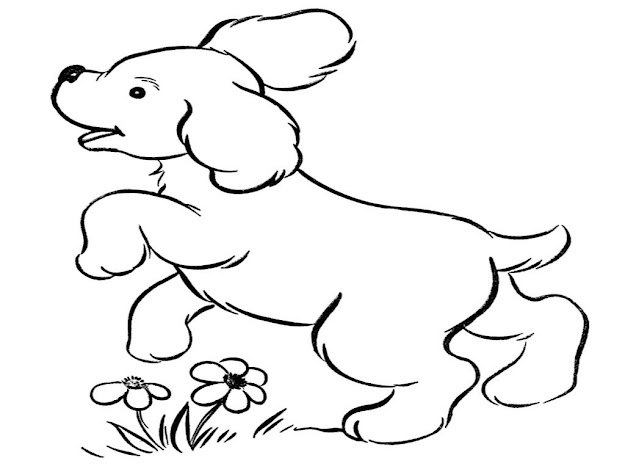 Image Of Puppy Coloring Pages Free Printable