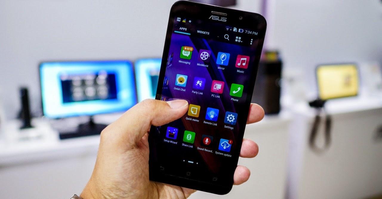 Asus Zenfone Tangguh Karena RAM 4 GB