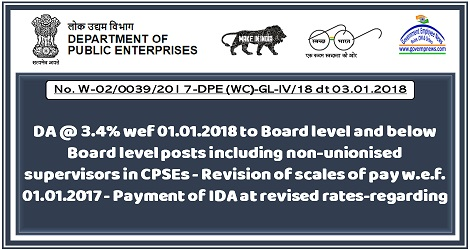 da-3.4%-wef-1.1.18-board-level-below-board-level-posts-cpses-revision-pay-1.1.17-govempnews