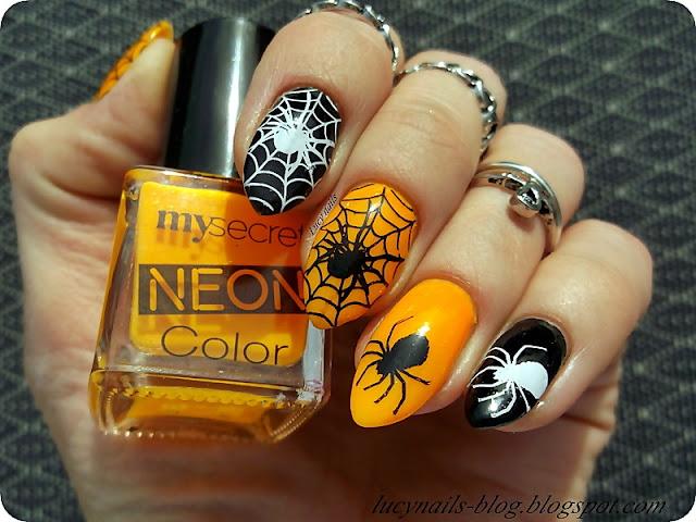 pająki-na-paznokciach
