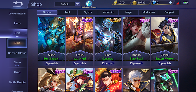 How to get all skins for free! in Mobile Legends Easily