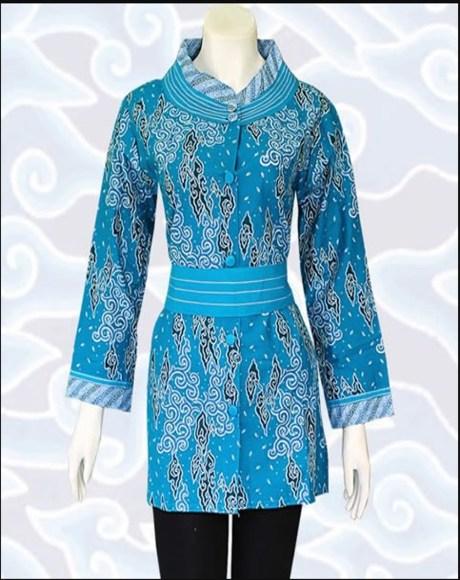 51 Populer Model Baju Guru Batik Kombinasi Baju Guru