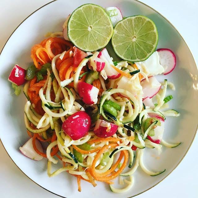 Köstliche Zucchini - Karotten Nudeln