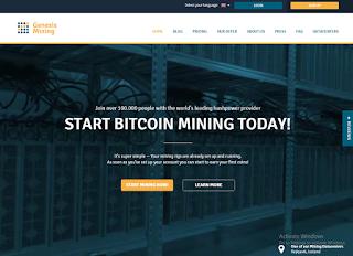Genesis Mining - Homepage