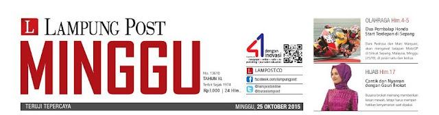 Harian Lampung Post Minggu