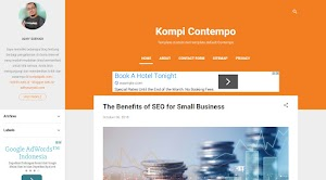 Custom Default Blogger Template Contempo