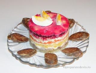 Salata Suba aperitiv retete culinare,