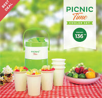 Dusdusan Picnic Time Cooler Set ANDHIMIND