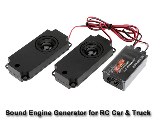 Engine Sound Generator For Rc Car Truck