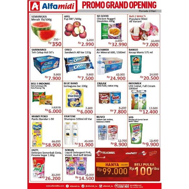 #Alfamidi - #Promo Katalog Opening di Manado Jln.Raya Tomohon (24 April 2019)
